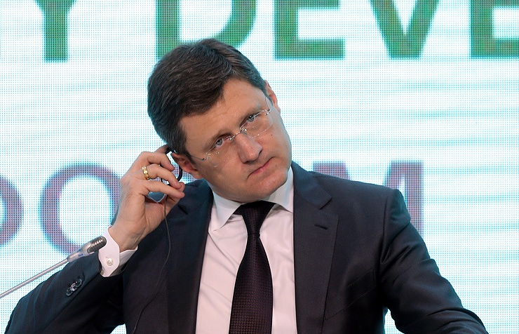 Russian Minister of Energy Alexander Novak