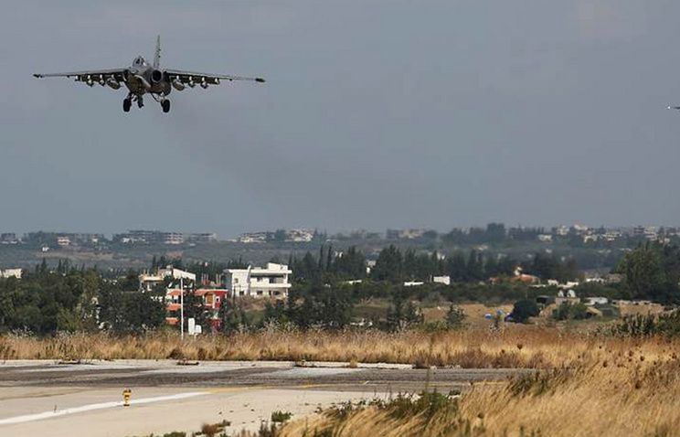 Hmeimim air base in Syria