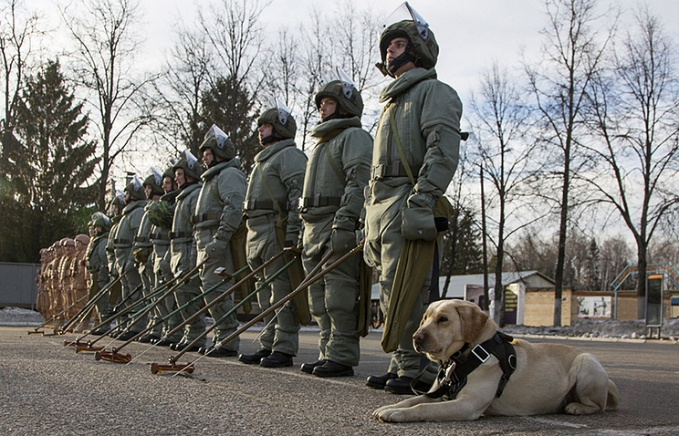Russian sappers