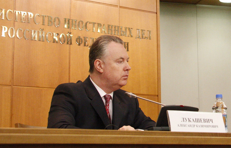 Russian Ambassador to the Organization for Security and Cooperation in Europe Alexander Lukashevich