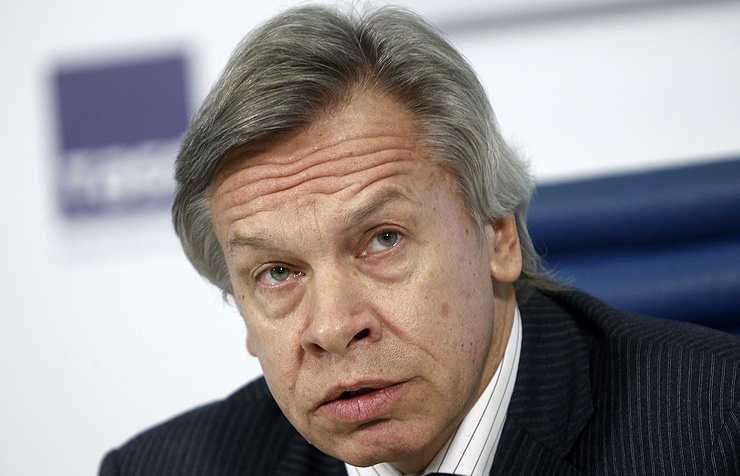 Alexei Pushkov, the chairman of the international committee of the Russian State Duma