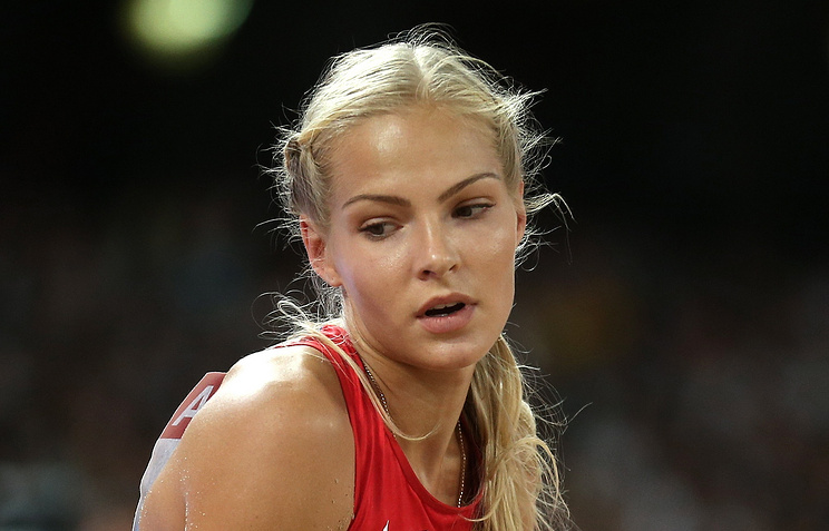 Russian jumper Darya Klishina