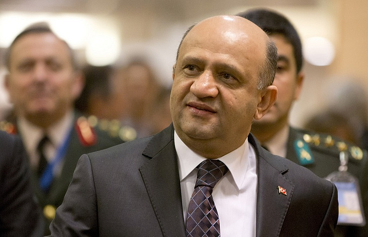 Turkish Defense Minister Fikri Isik