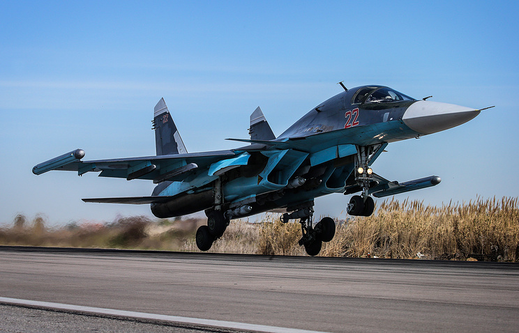Sukhoi Su-34 bomber in Syria (archive)