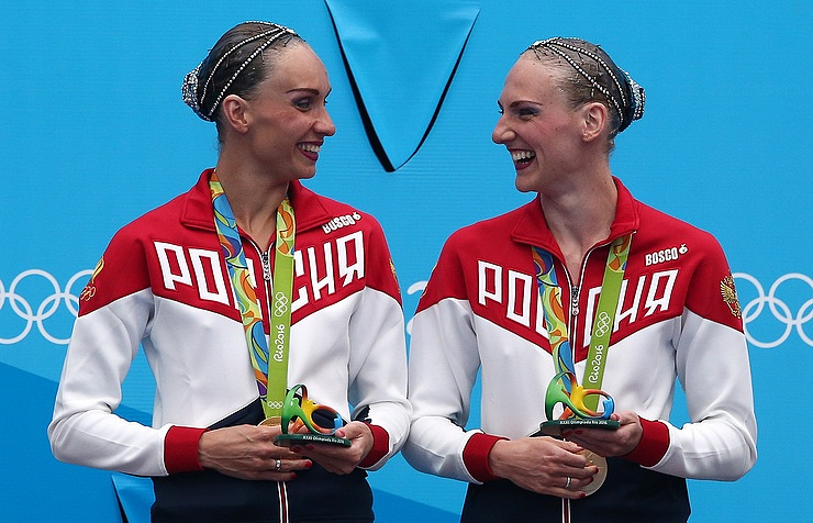 Natalya Ishchenko and Svetlana Romashina