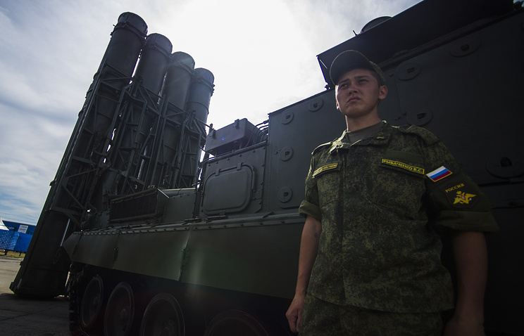 S-300V4 anti-aircraft missile defense system