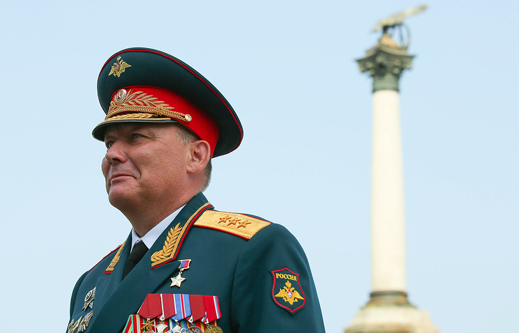 Russian Colonel General Alexander Dvornikov