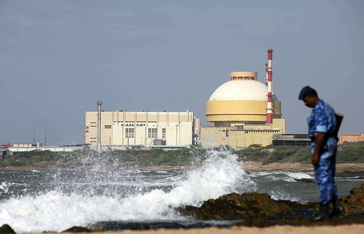 The Kudankulam NPP in India