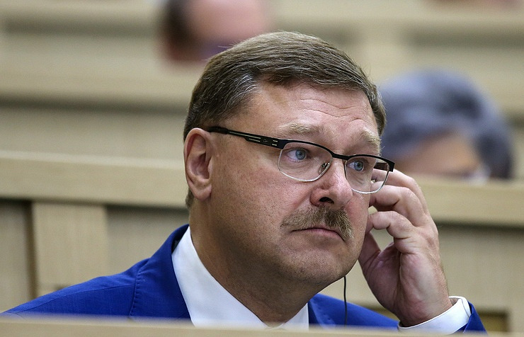 Konstantin Kosachev, the chairman of the international affairs committee of the Federation Council