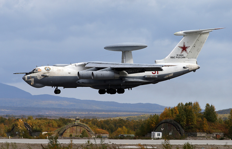 A-50 airborne warning and control system aircraft