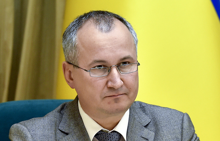 Vasily Gritsak, head of Ukraine's State Security Service