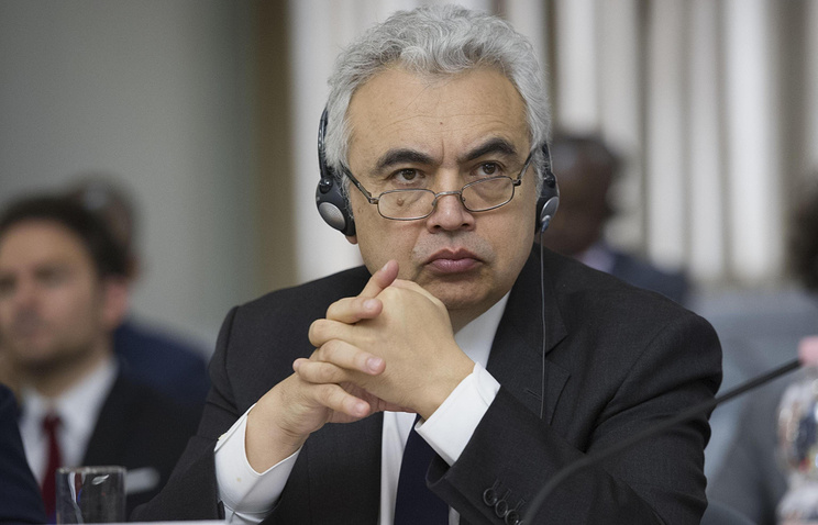 Executive Director of the International Energy Agency Fatih Birol