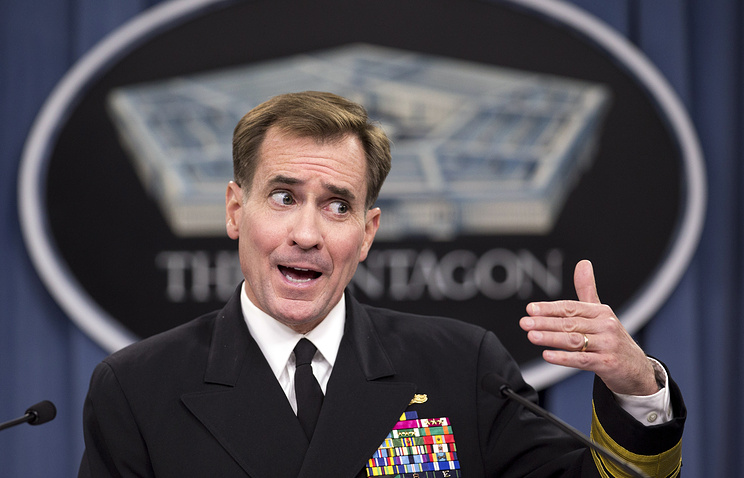US Rear Admiral John Kirby