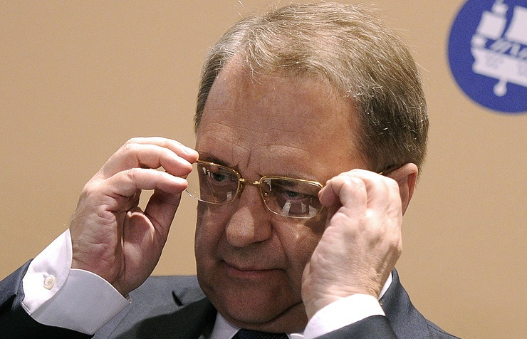 Russian president's envoy for the Middle East and African countries and Deputy Foreign Minister Mikhail Bogdanov
