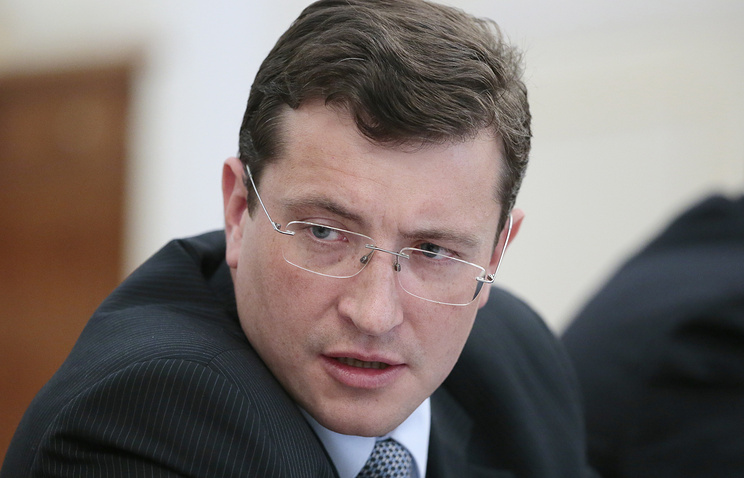 Russia's First Deputy Minister of Industry Gleb Nikitin