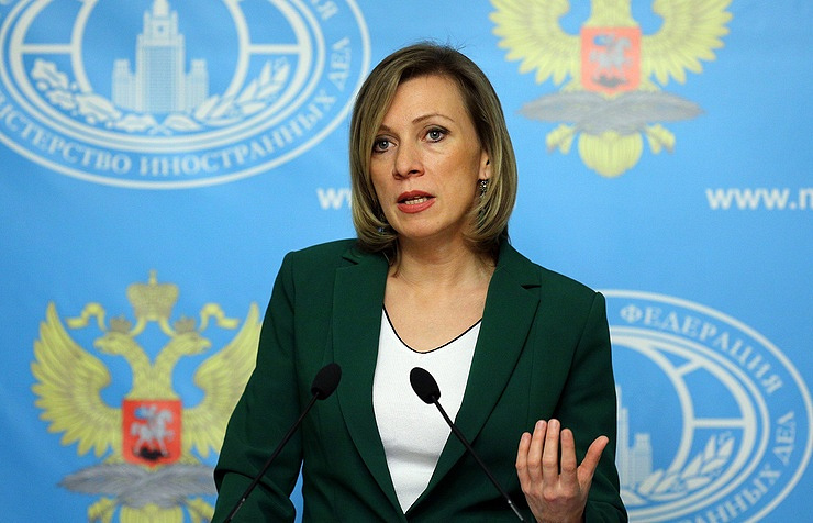 Spokeswoman for the Russian Foreign ministry Maria Zakharova