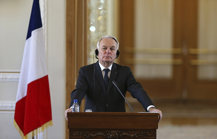 French Foreign Minister, Jean-Marc Ayraut
