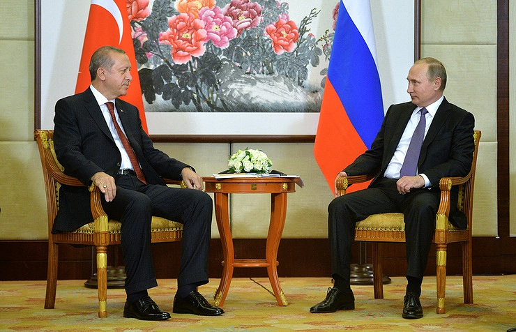 Turkish President Recep Tayyo Erdogan and Russian President Vladimir Putin