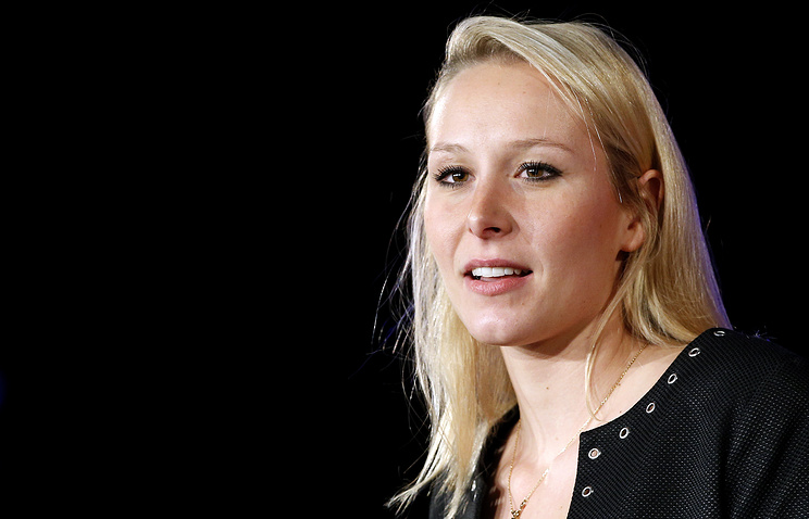 French National Front party member Marion Marechal-Le Pen