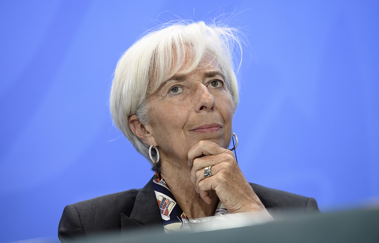 Managing Director of the IMF Christine Lagarde