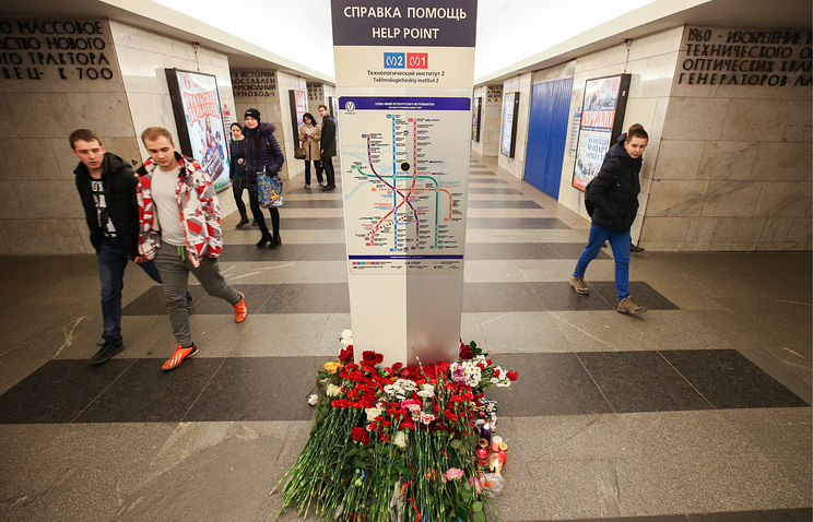 Death toll from St. Petersburg metro terrorist attack rises to 15