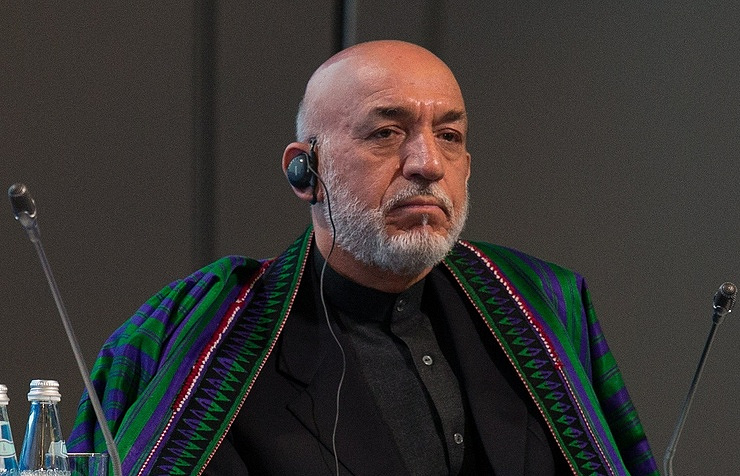 President of Afghanistan from 2002 to 2014. Hamid Karzai