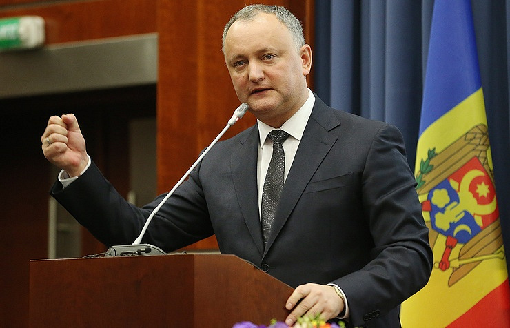 Moldovan president - decision to expel Russian diplomats is 'outrageous': RIA