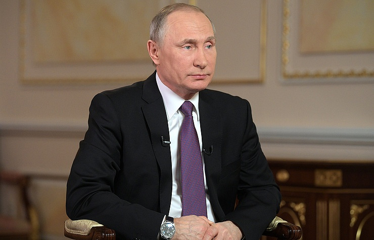 Putin says Russian Federation  never involved in hacking