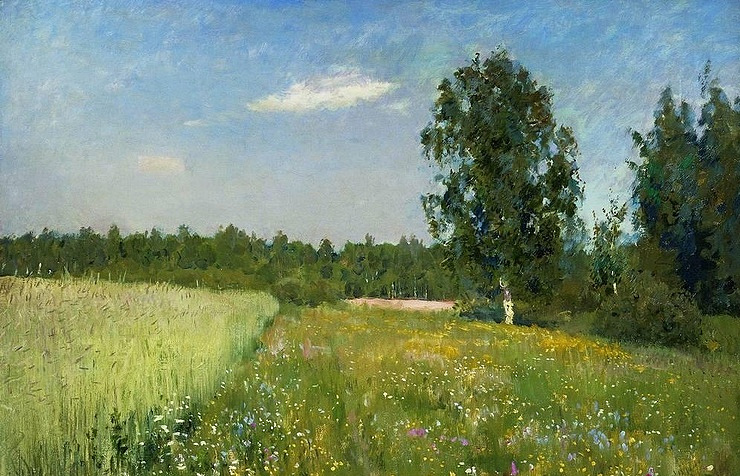 "Isaak Levitan's ""Day of June"" (""Summer"")"