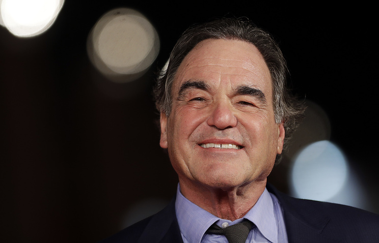 Hollywood director Oliver Stone