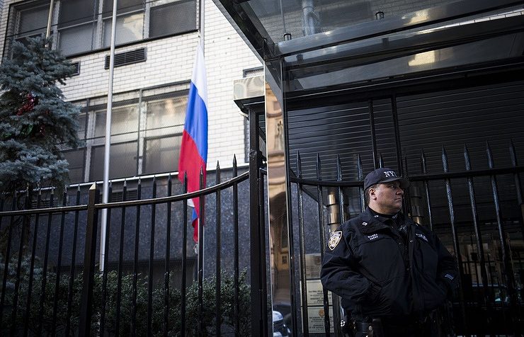 Russian embassy in New York