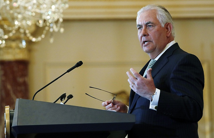 US Secretary of State Rex Tillerson