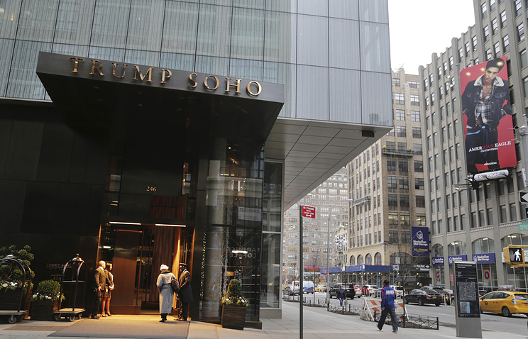Trump Soho hotel in New York