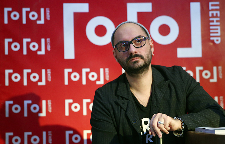 Russian film and theatre director detained over embezzlement claims