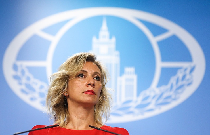 the Russian Foreign Ministry's official spokeswoman, Maria Zakharova