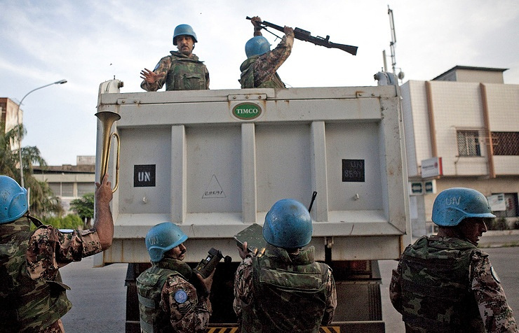 Ukraine offers alternative proposal on United Nations  peacekeepers