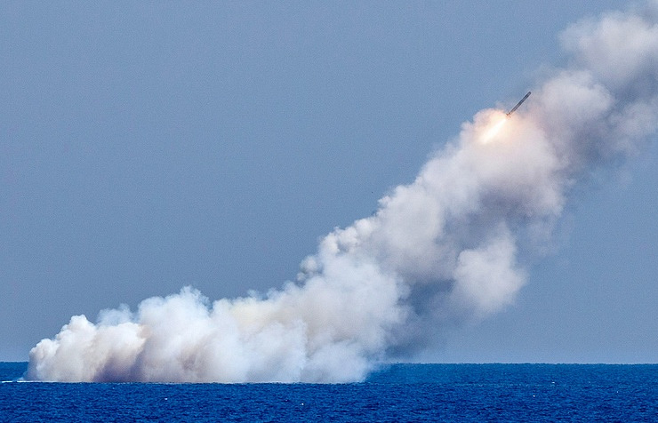 Russian Military Targets Syrian Militants With Kalibr Cruise Missiles