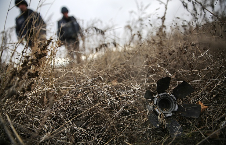 Explosions heard from Ukraine's biggest munitions depot near Vinnitsa