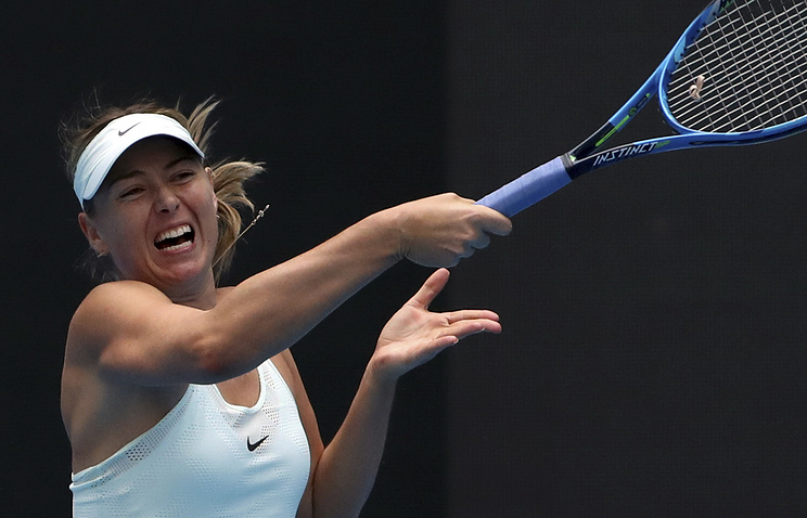 Maria Sharapova beats Switzerland's Vogele to reach Tianjin Open semifinals