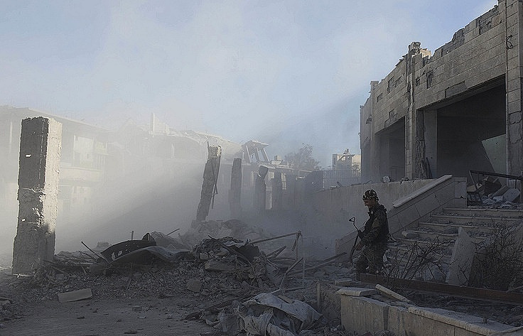 ISIS Has Retaken Half of Syrian Border Town