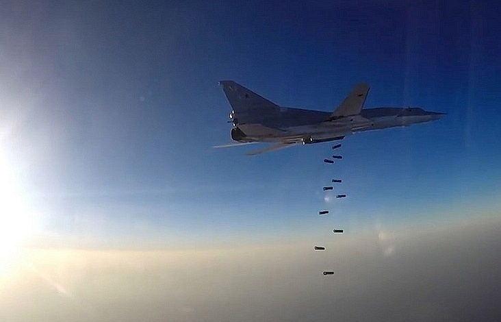 Syria war: Russian Federation denies bombing civilians in Deir al-Zour village