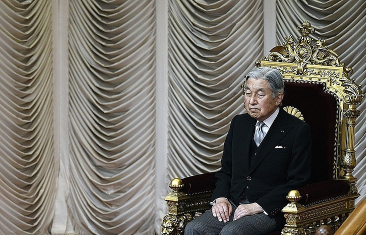 After six months in Japan will be the new Emperor