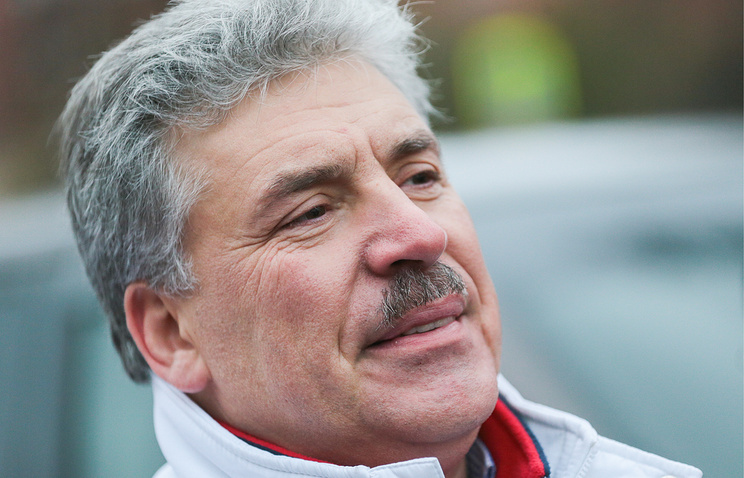 Director of the closed joint-stock company Lenin State Farm Pavel Grudinin