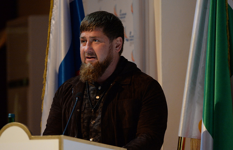 Head of Chechnya Ramzan Kadyrov