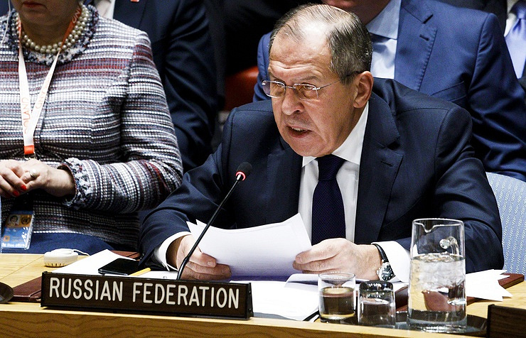 Lavrov Tells Security Council Iran Nuclear Failure Would Be 'Alarming'