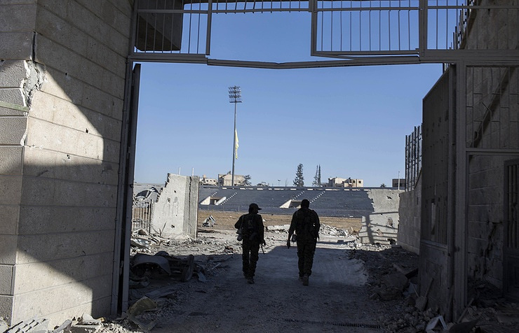 Rebel stronghold in northwestern Syria heavily bombed