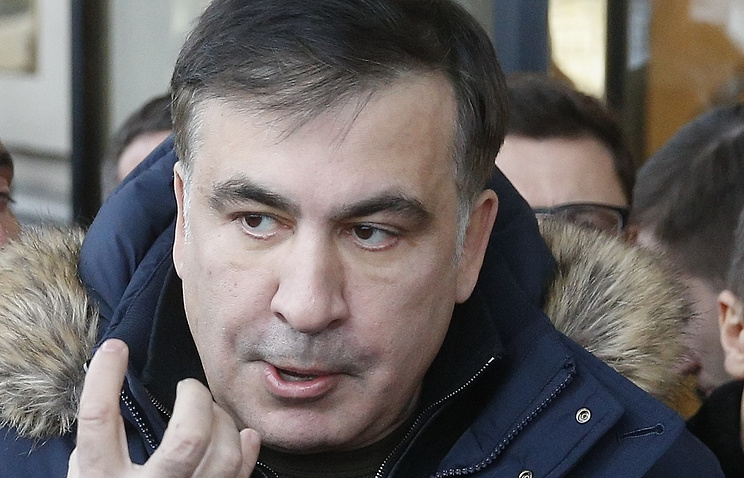 Ex-Georgia chief Saakashvili detained in Kiev by 'individuals in masks' - experiences