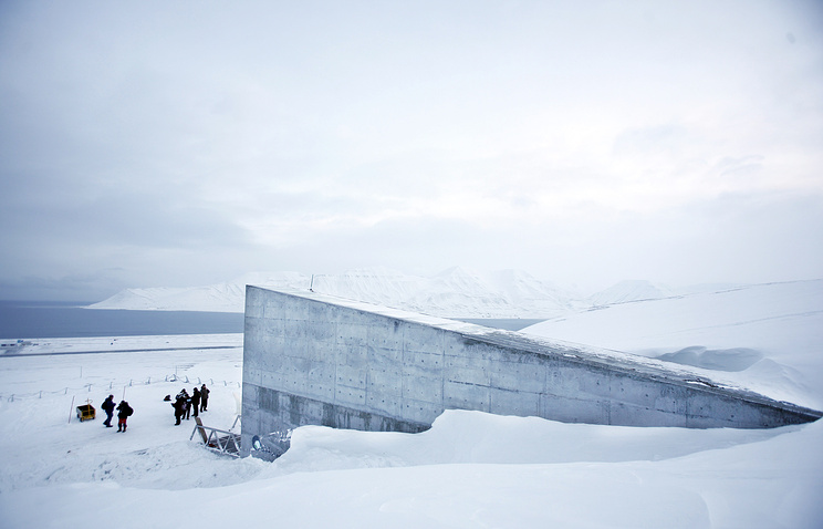 Global warming prompts Norway to strengthen its doomsday seed vault