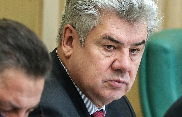 Viktor Bondarev, the chair of the Russian upper house's defense and security committee