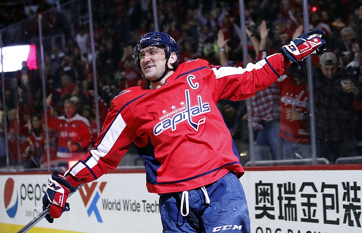Alex Ovechkin scores 600th career goal